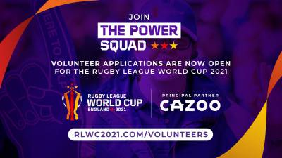 Record number of volunteers needed for RLWC2021