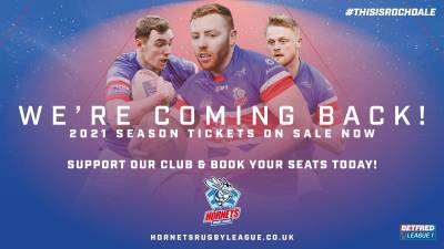 2021 Season Tickets NOW ON SALE