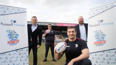 Russell Homes to sponsor Rochdale Hornets Sporting Foundation