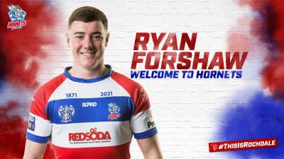 Hornets sign talented youngster Ryan Forshaw