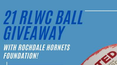 21 RLWC ball giveaway with Hornets Foundation