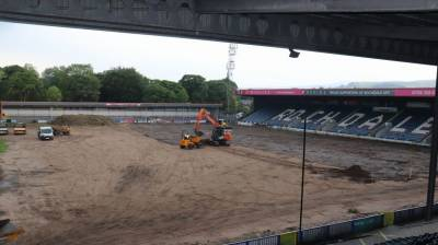 Crown Oil Arena: Pitch update