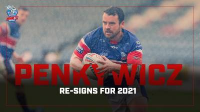 Sean Penkywicz re-signs for 2021
